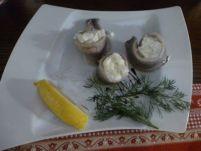 Karczma Chelminska restaurant herring.
