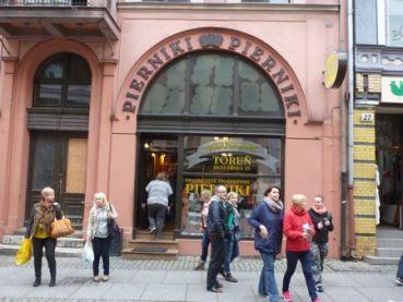 Toruń gingerbread shop.
