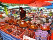 Chili at Kamala market, Phuket.
