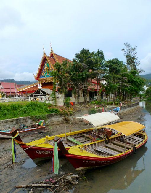 Kamala beach Buddhist monastery