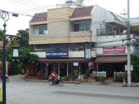 My hotel Chiangmai, room top left.