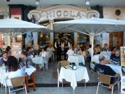 Nicola restaurant, Lisbon, since 1929