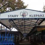 Stary Kleparz market Krakow entrance.