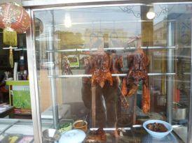 Duck street food Chiang Ria.