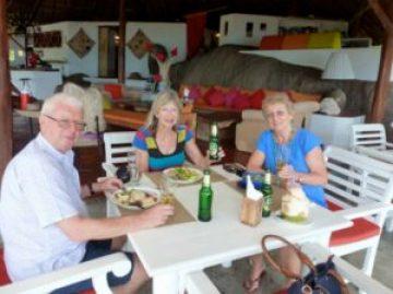 Jungle Club, Koh Samui lunch