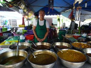 Old Town Phuket market chef