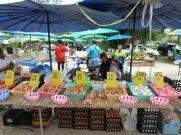 Eggs of many hues at the Nai Yang informal lunchtime market.