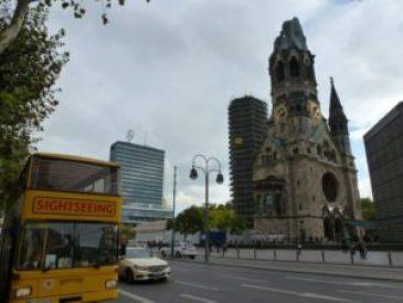 The landmark church, Berlin