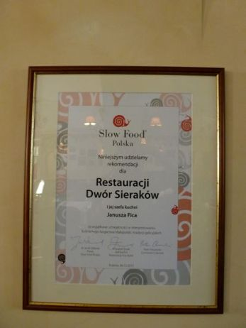 Recognized by Slow Food Poland.
