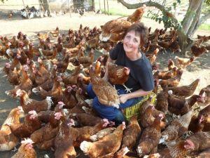 Felicity Vonmoos egg lady