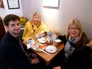 Lubie Cafe Warsaw breakfast.