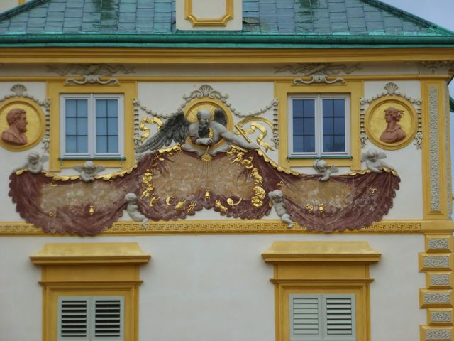 A detail at Wilanów Palace, Warsaw.