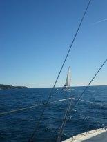 Wanda au près tribord amure 2013.01.06 #3