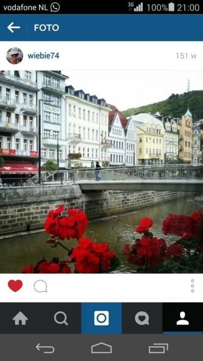 eerste foto Instagram