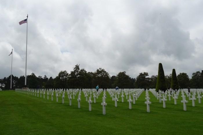 Amerikaanse begraafplaats Colleville sur-Mere