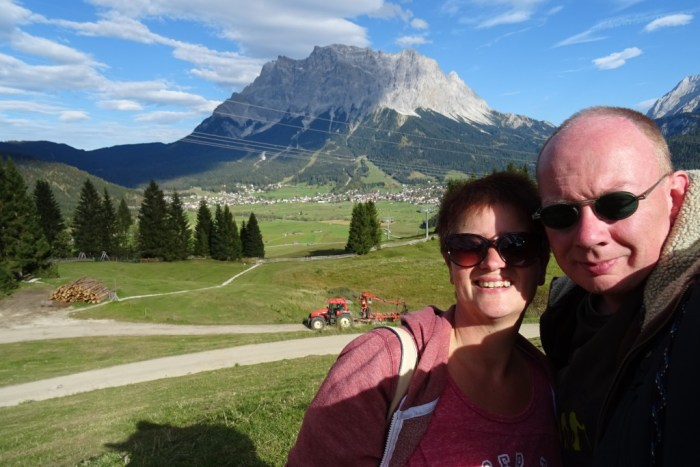 selfietime in de bergen!