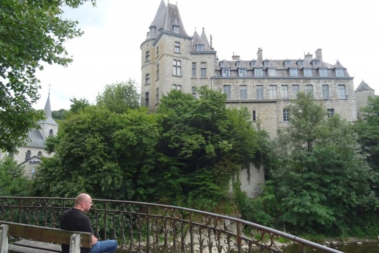 Het kasteel van Durbuy...