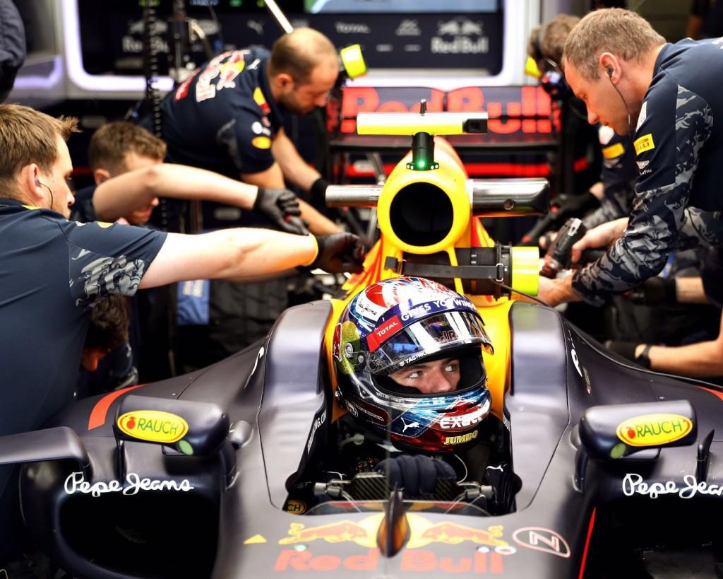 Max Verstappen GP Engeland 2016