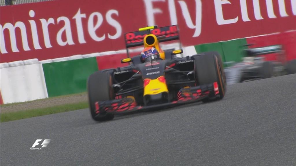 Max Verstappen GP Japan 2016