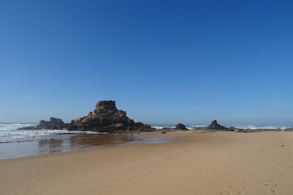 Praia da Castelejo stranden
