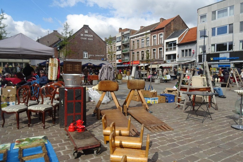 antiekmarkt Tongeren toerist
