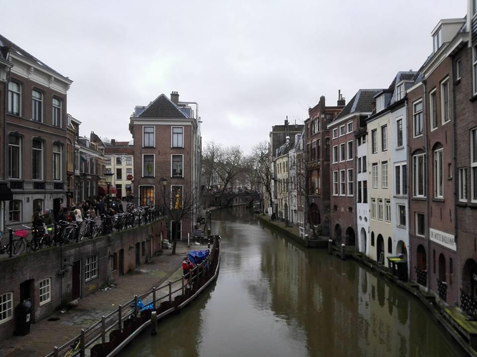 Utrecht Nederland januari winter