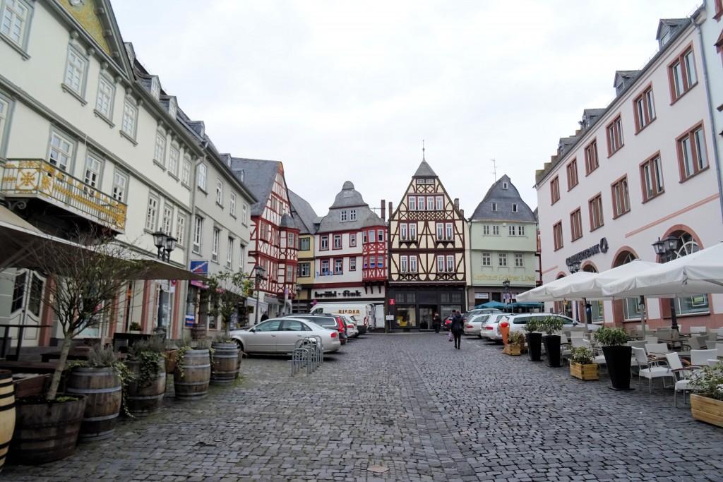 Kornmarkt Limburg an der Lahn Duitsland