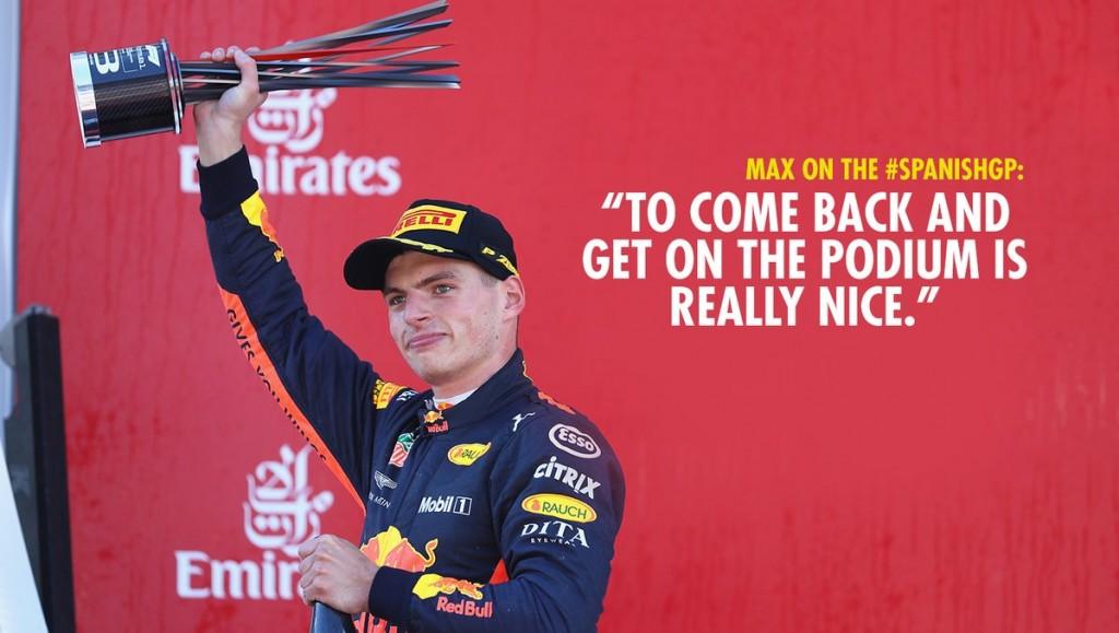Max Verstappen GP Spanje