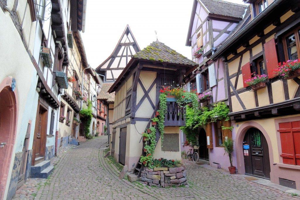 Equisheim Route des Vins Elzas Vogezen