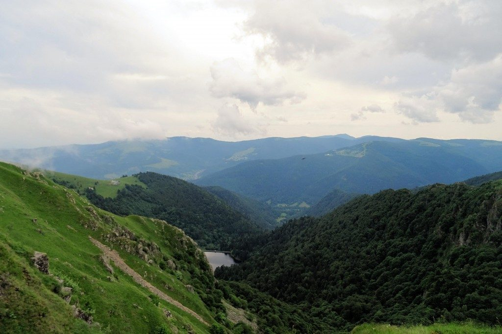 Hohneck Route des Cretes Vogezen