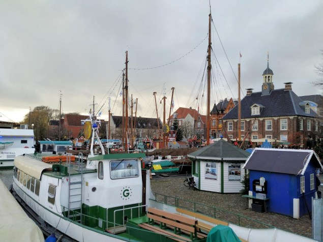 Leer kerstmarkt haven