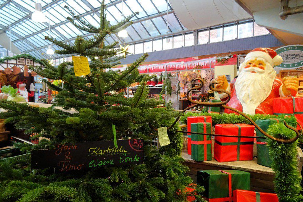 Markthalle Kassel kerst Duitsland
