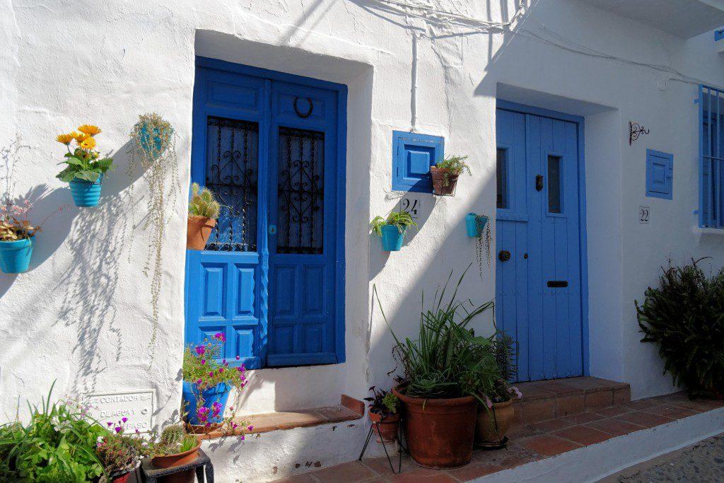 Frigiliana Costa del Sol Spanje