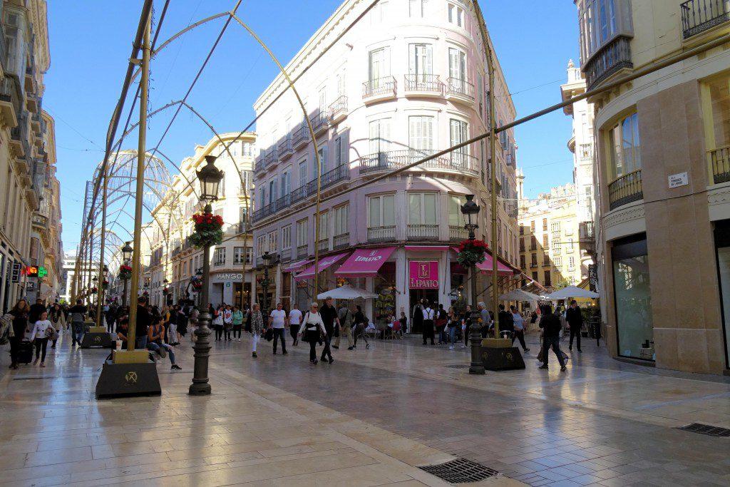 Calle Larios Malaga Coste del Sol
