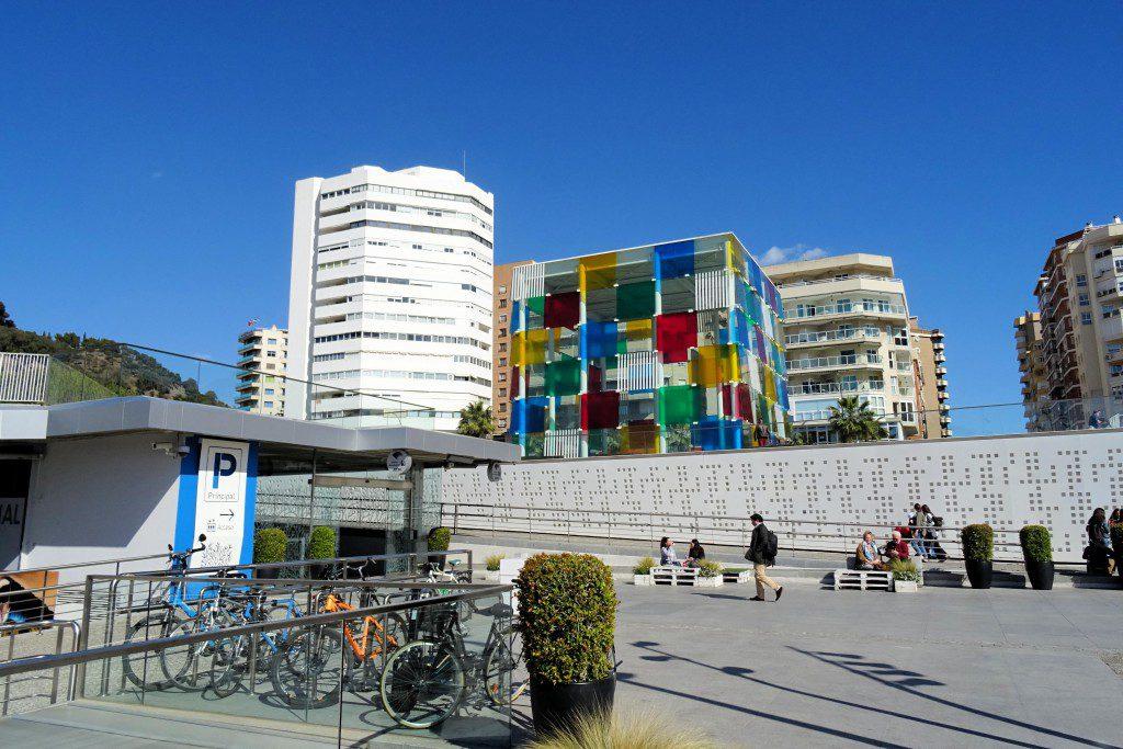 Centre Pompidou Malaga Coste del Sol Spanje