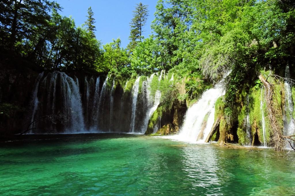 Plitvice Meren Kroatië