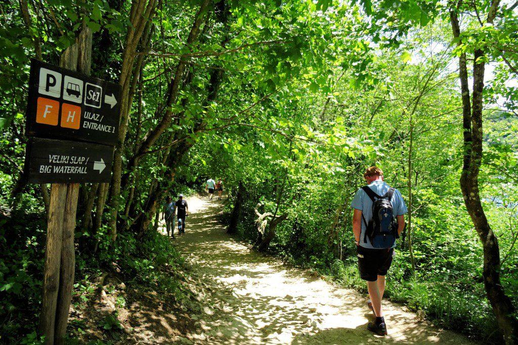 Route H Plitvice meren