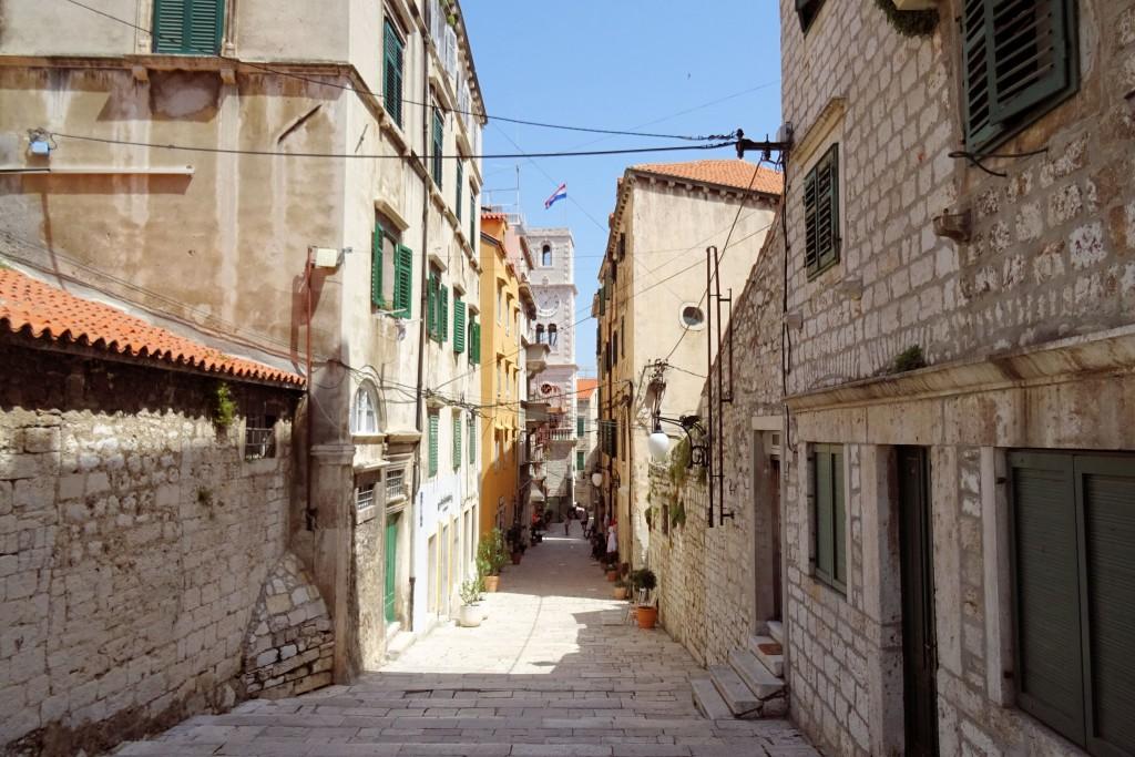 Sibenik Kroatië