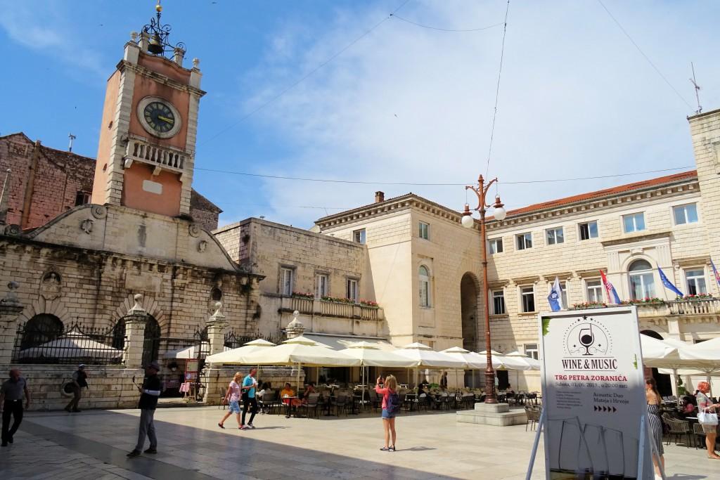Zadar pleinen kerken