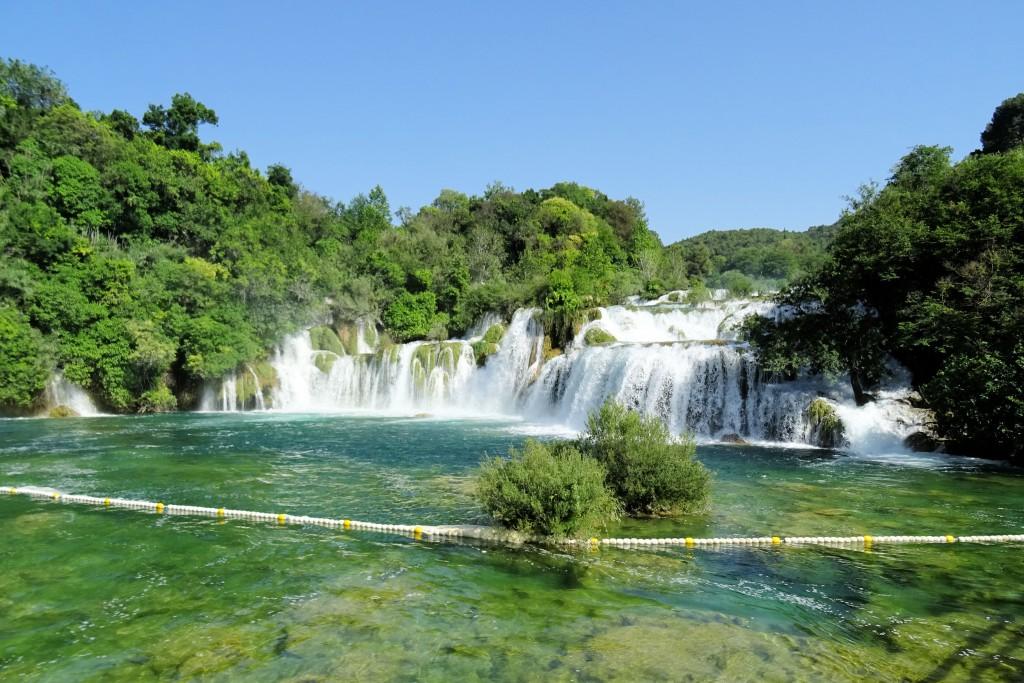 Krka Kroatië vakantiefoto's