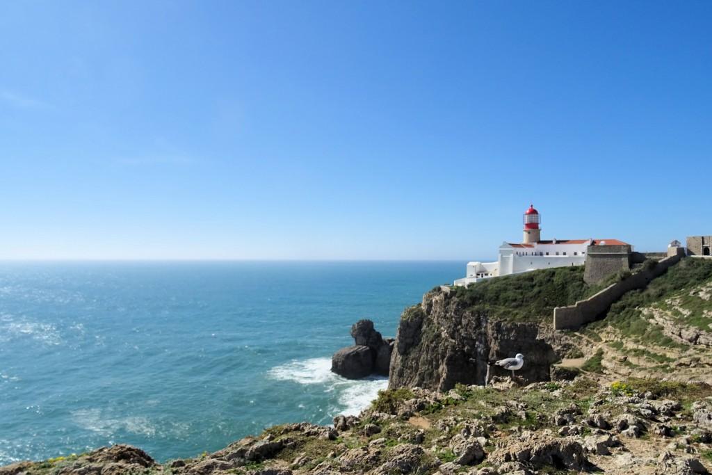 Cap St. Vincent Portugal zonvakantie winter