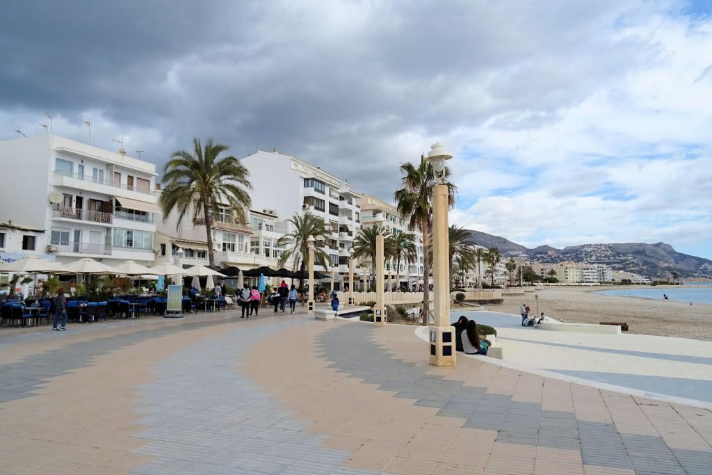 Altea boulevard Costa Blanca Spanje