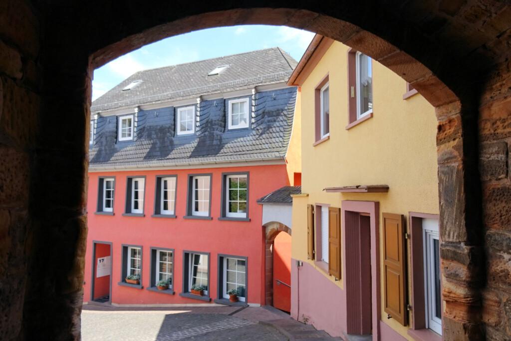 Saarburg doorkijkje