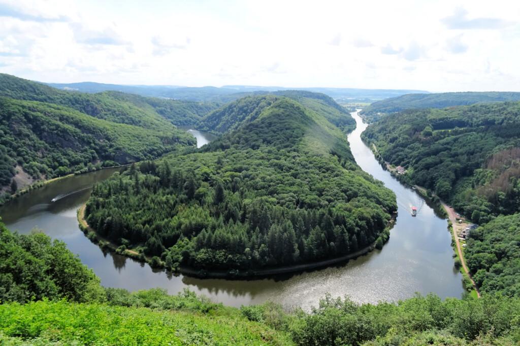 Uitzichtpunt Cloef Rijnland-Palts Duitsland