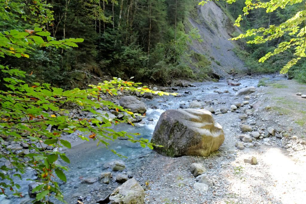 Burserschlucht kloof Vorarlberg