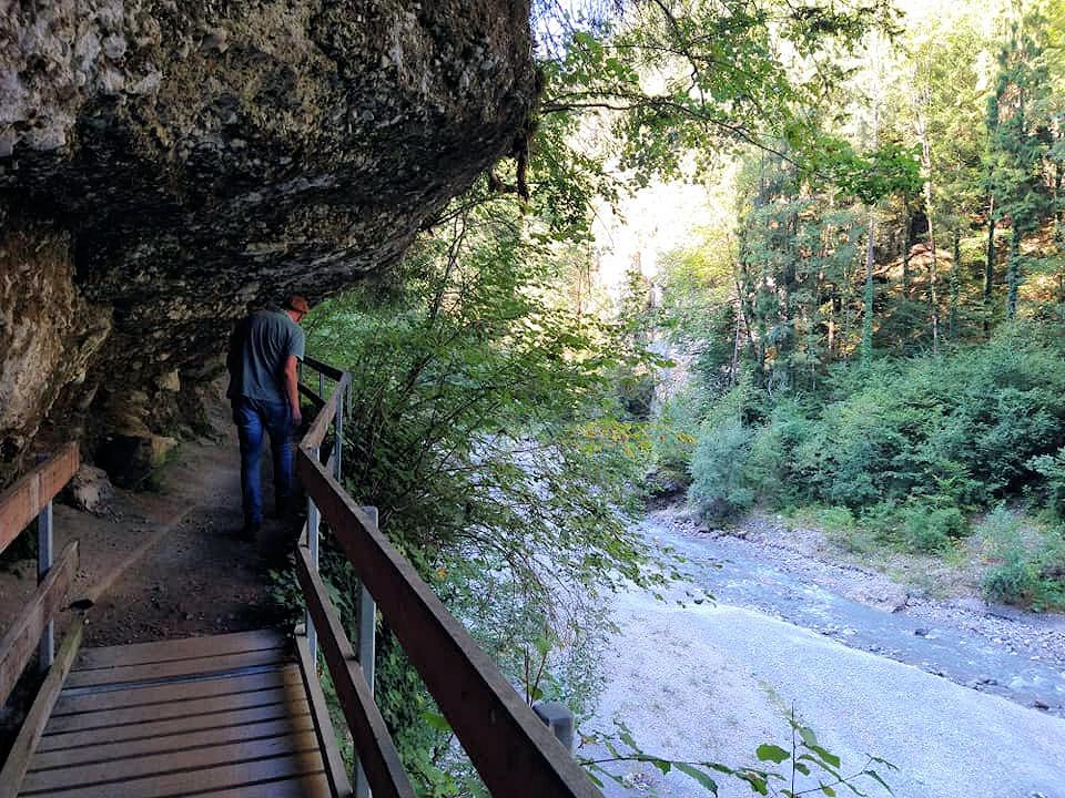 Burserschlucht Vorarlberg Oostenrijk