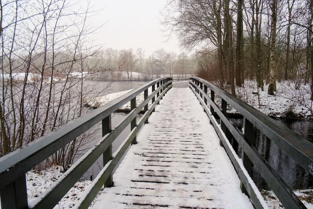brug natuurpark Borgerswold Veendam