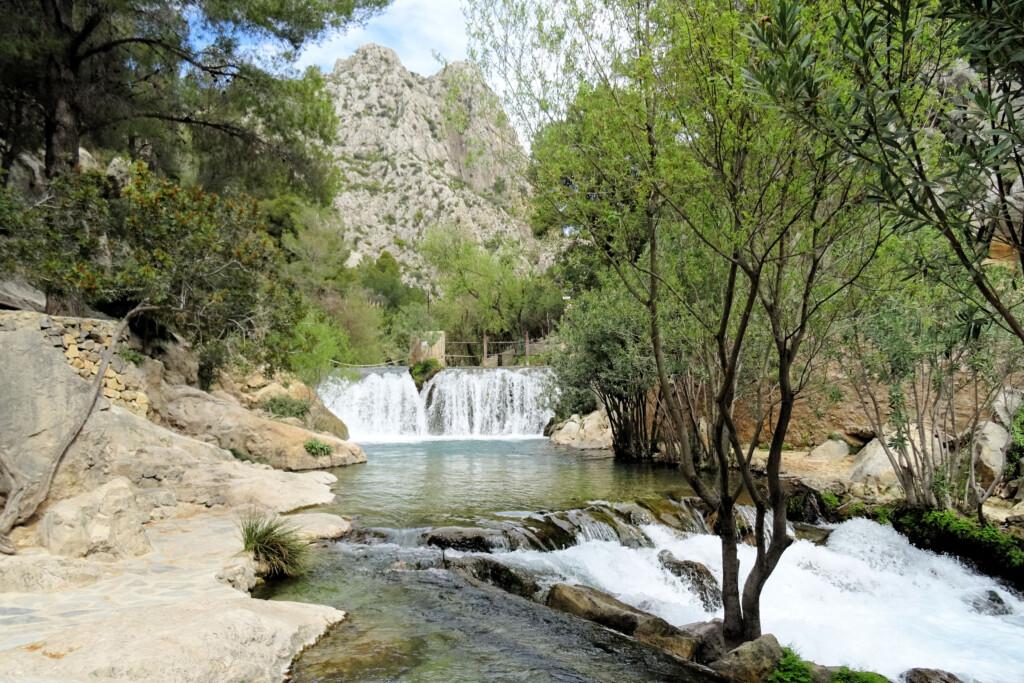 De Algar watervallen