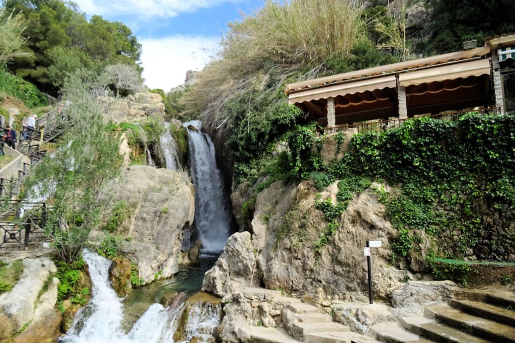 De Algar watervallen Costa Blanca
