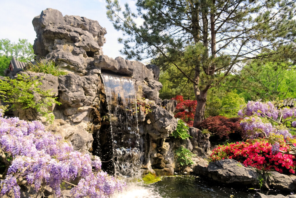 waterval Chinese Tuin De Hortus